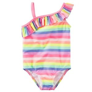 Carter's Baby Girl's One Piece Stripe Swimsuit